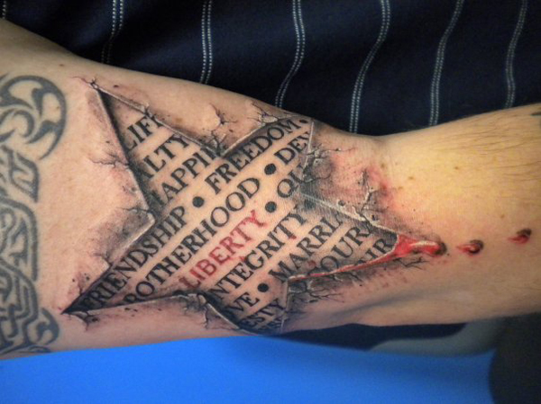 How Shadows and Other Illusions are Used to Create 3D Tattoos - Picnic!