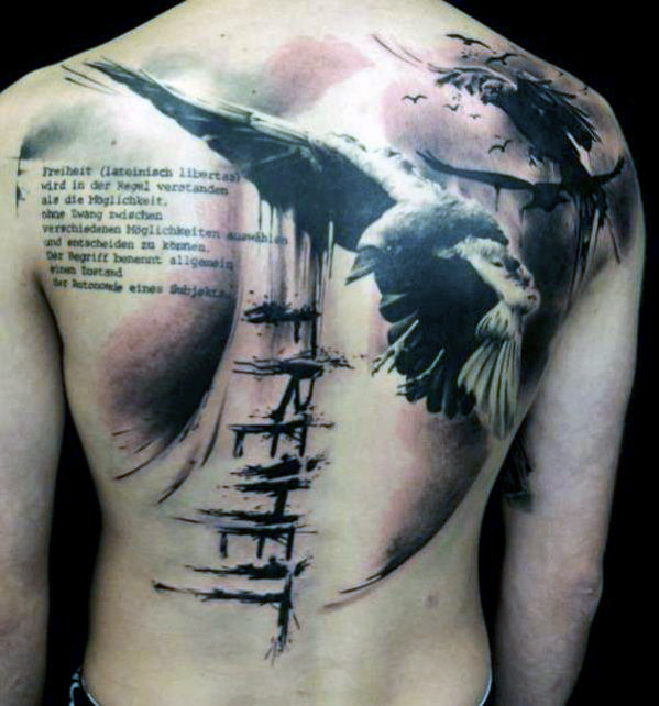 12 Unique Back Tattoos for Men - Picnic!